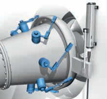 磁致伸缩位移传感器涡轮机控制